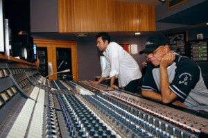 Gibson/Baldwin GRAMMY Jazz Band Recording Session at Capitol Recording Studios